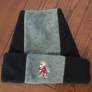 Grumpy Dwarf Beanie Disney Goofy Hat Co. Gray